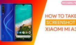 How to Take Screenshot In Xiaomi Mi A3 – 4 EASY WAYS!