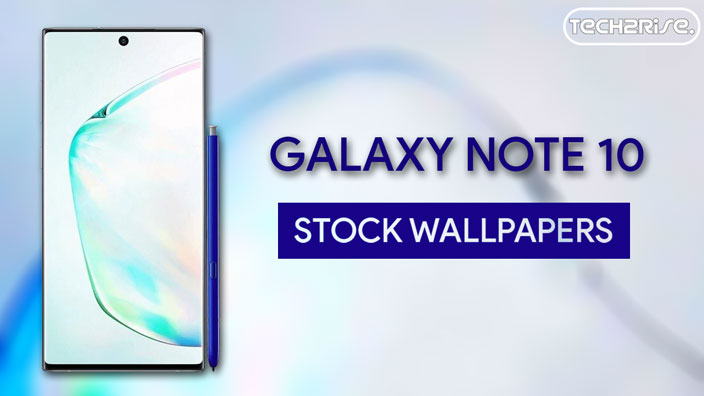 Samsung Galaxy Note 10 Stock Wallpapers