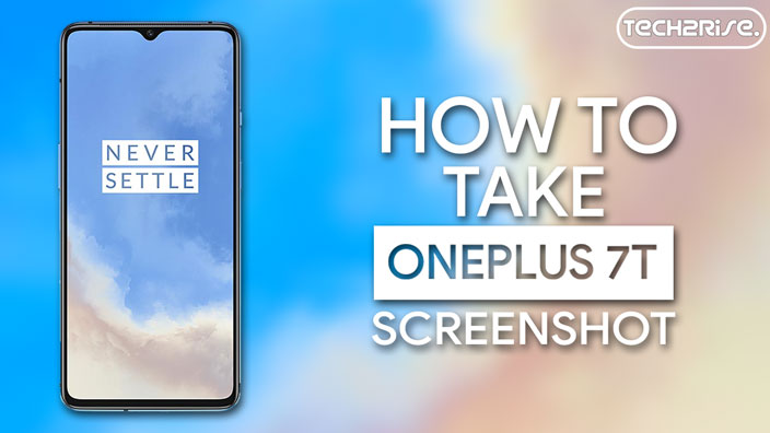 How To Take Screenshot In OnePlus 7T