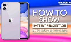 How to Show Battery Percentage On iPhone 11 [Easy Methods]