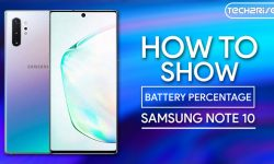 How To Show Battery Percentage On Samsung Galaxy Note 10 – Easy WAYS!