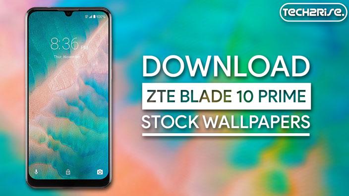 Download ZTE Blade 10 Prime Stock Wallpapers