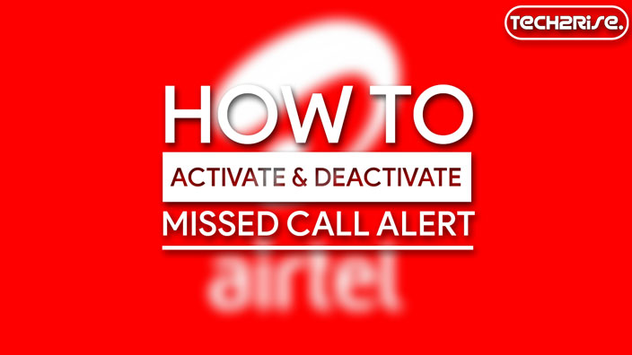 How To Activate Missed Call Alert In Airtel
