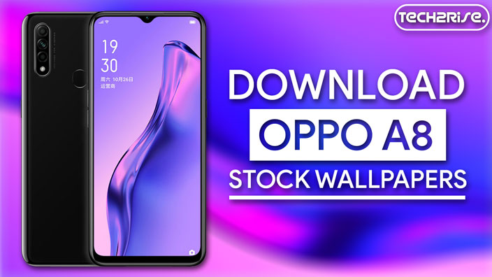 Download Oppo A8 Stock Wallpapers