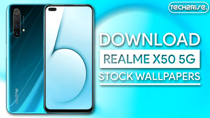Download Realme X50 5G Stock Wallpapers