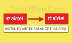 Airtel To Airtel Balance Transfer Code 2020 [100% Working]