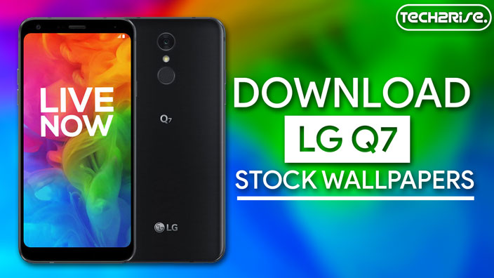Download LG Q7 Stock Wallpapers