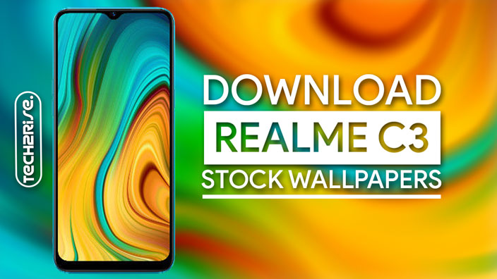 Download Realme C3 Stock Wallpapers