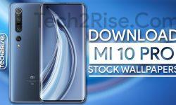Download Xiaomi Mi 10 Pro Stock Wallpapers [1080P Walls]