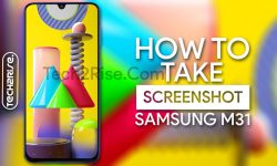 How To Take Screenshot In Samsung Galaxy M31 [5 Easy Methods]
