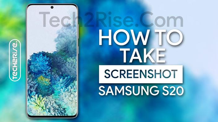 How To Take Screenshot In Samsung Galaxy S20