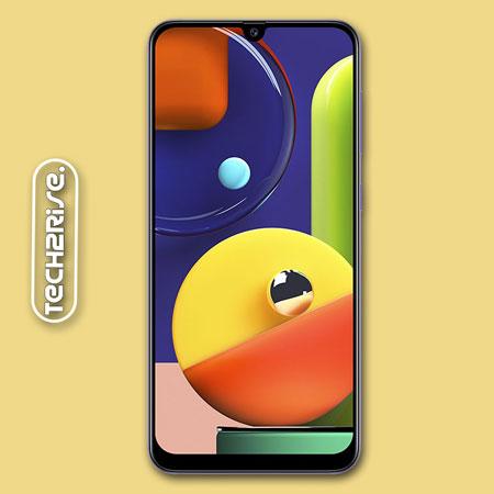 Screenshot In Samsung Galaxy A50s