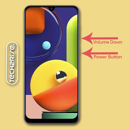 Take Screenshot In Samsung Galaxy A50s