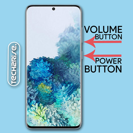 Take Screenshot In Samsung Galaxy S20