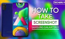 How to Take Screenshot In Samsung Galaxy M21 [6 Easy WAYS]