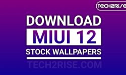 Download MIUI 12 Stock Wallpapers [FHD+ Collection]