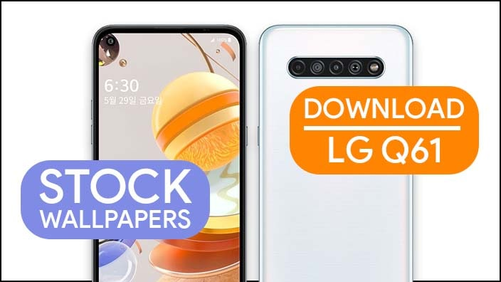 LG Q61 Stock Wallpapers