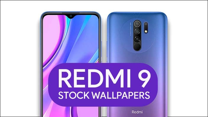 Redmi 9 Stock Wallpapers