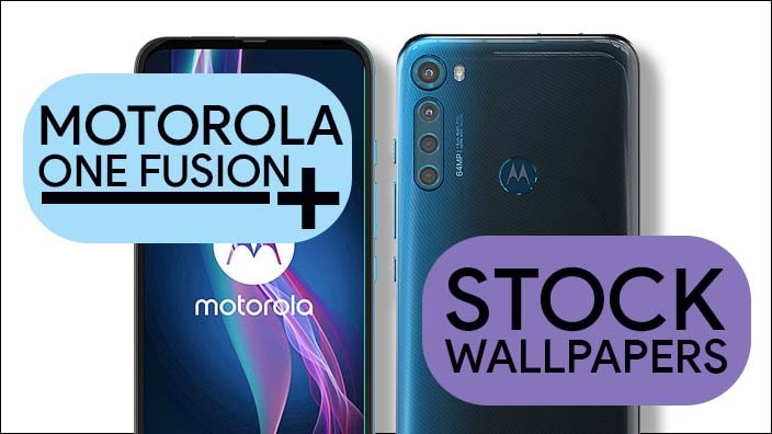 Motorola One Fusion Plus Stock Wallpapers