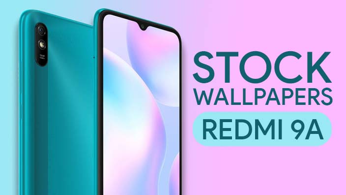 Redmi 9A Stock Wallpapers