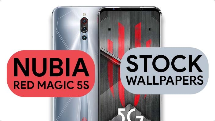 Nubia Red Magic 5S Stock Wallpapers
