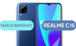 How to Take Screenshot In Realme C15 (5 Easy METHODS)