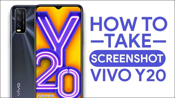 Take Screenshot In Vivo Y20