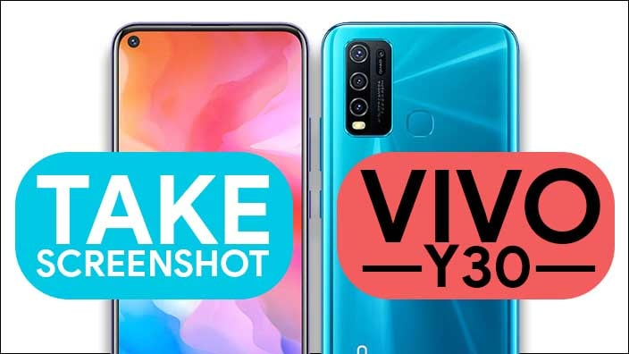 Take Screenshot In Vivo Y30