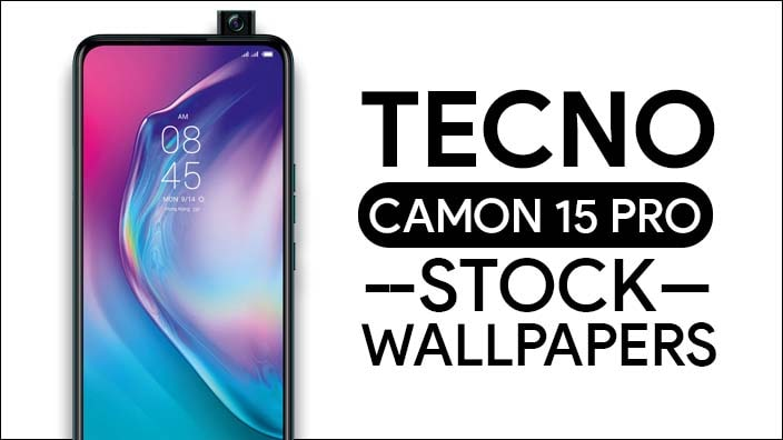 Tecno Camon 15 Pro Stock Wallpapers