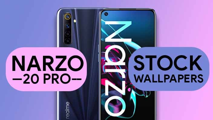Realme Narzo 20 Pro Stock Wallpapers