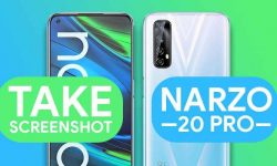 How to Take Screenshot In Realme Narzo 20 Pro – 6 Easy WAYS!