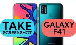 How to Take Screenshot In Samsung Galaxy F41 [5 Easy WAYS]