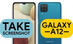 How to Take Screenshot In Samsung Galaxy A12 (6 EASY WAYS)