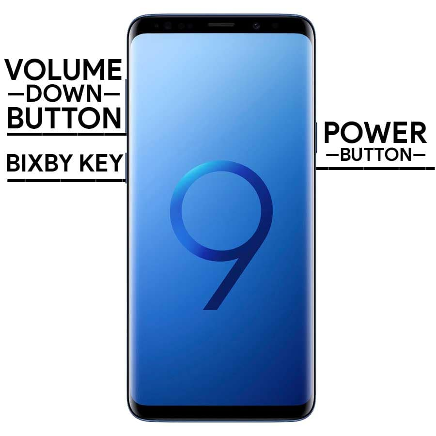 Take a Screenshot on Samsung S9