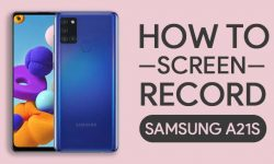 How To Screen Record On Samsung Galaxy A21s: 2 EASY WAYS!