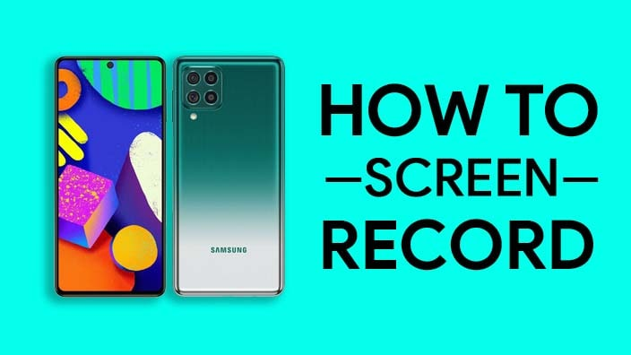 How To Screen Record On Samsung Galaxy F62