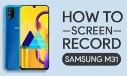 How To Screen Record On Samsung Galaxy M31 – 2 EASY WAYS!
