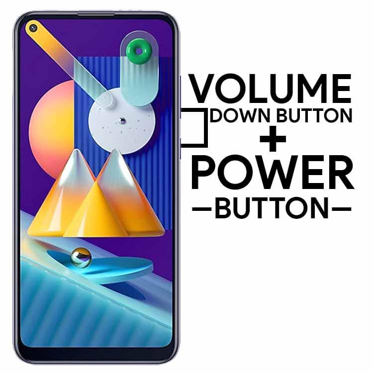 Take Screenshot on Samsung Galaxy M11