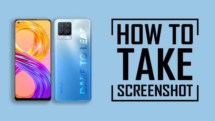 How to Take Screenshot on Realme 8 Pro