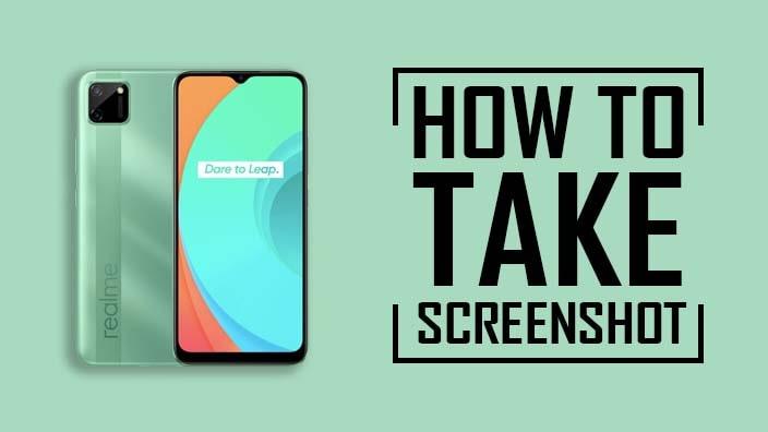 How to Take Screenshot on Realme C21