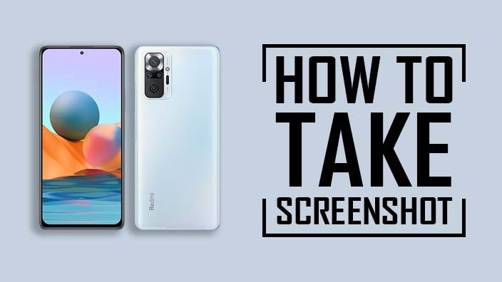 Take Screenshot In Redmi Note 10 Pro