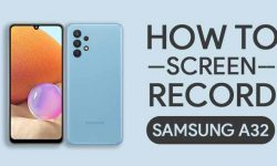 How to Screen Record On Samsung Galaxy A32 [2 EASY WAYS]