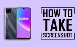 How to Take Screenshot on Realme C25: SEVEN EASY WAYS!