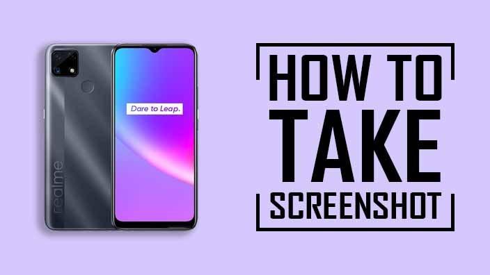 How to Take Screenshot on Realme C25
