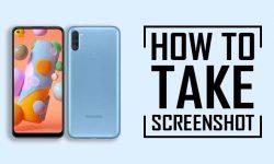 How to Take Screenshot on Samsung Galaxy A11: 6 EASY WAYS!