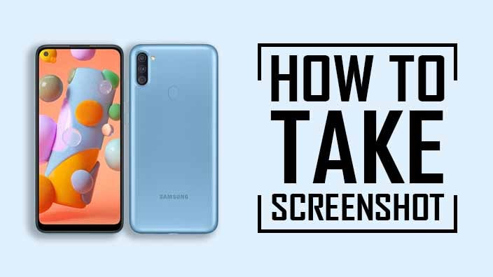 How to Take Screenshot on Samsung Galaxy A11