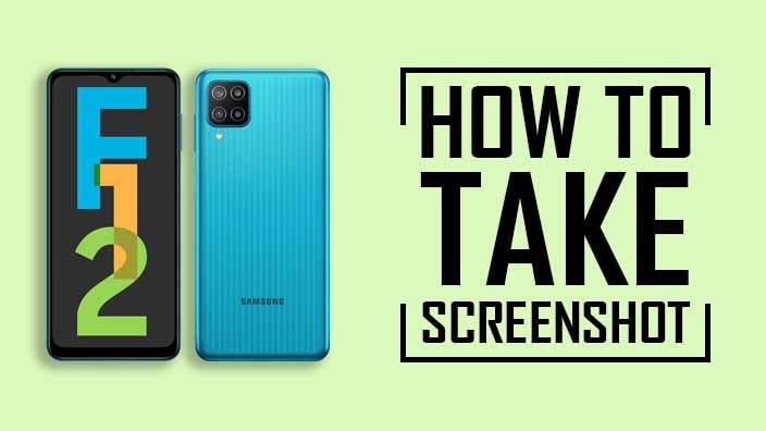 How to Take Screenshot on Samsung Galaxy F12