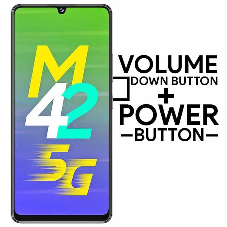 Take Screenshot on Samsung Galaxy M42 5G