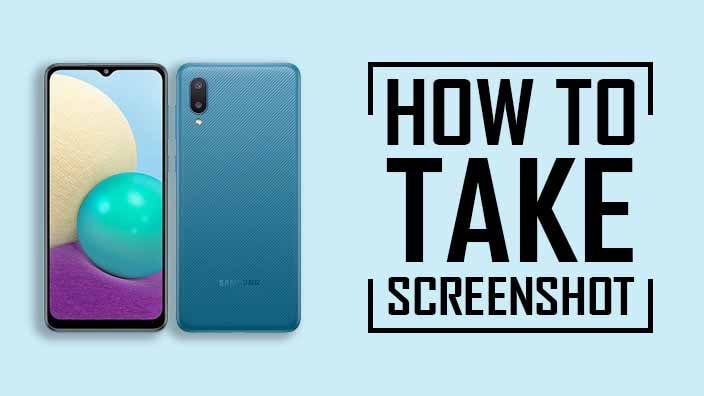 Take Screenshot In Samsung Galaxy A02