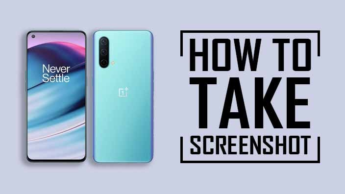 Take a Screenshot On OnePlus Nord CE 5G